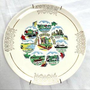 3/$25 Vintage plate PEI Prince Edward Island